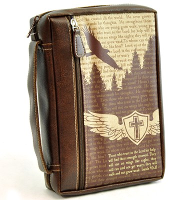 Eagle's Flight Bible Cover, Medium   -