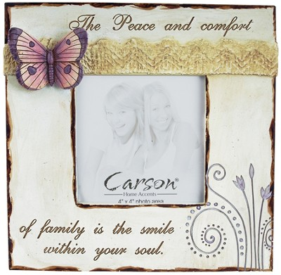Peace and Comfort Photo Frame  -