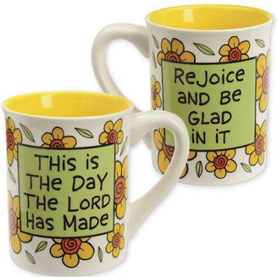 Ceramic Mug, This is the Day That the Lord Has Made  -