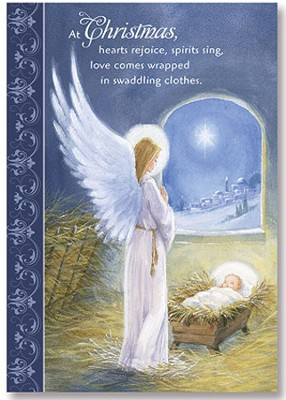 At Christmas Hearts Rejoice Christmas Cards, Pack of 20   -