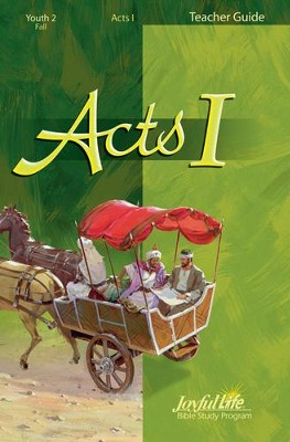 Acts 1 Youth 2 (Grades 10-12) Teacher Guide   -