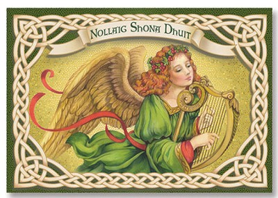 Nollaig Shona Dhuit Irish Christmas Cards, Pack of 20   -