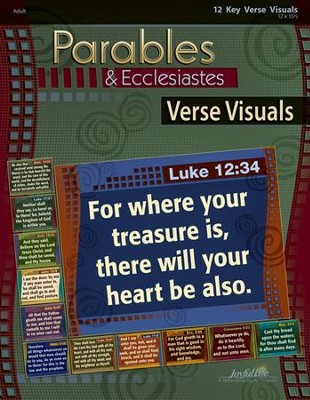 Parables & Ecclesiastes Adult Bible Study Key Verse Visuals  -
