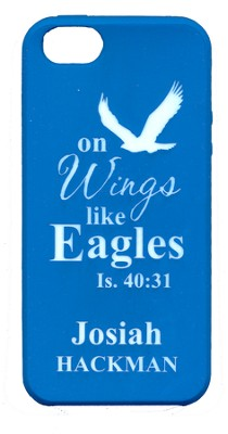 Personalized iPhone 5 Case for Personalization, Eagle, Blue  -