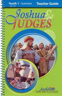 Joshua and Judges Youth 1 (Grades 7-9) Teacher's Guide   -