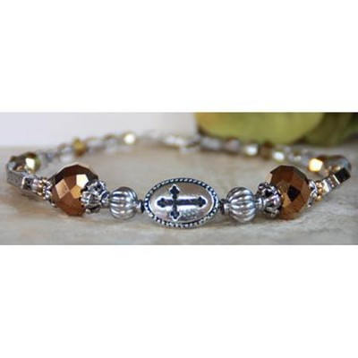 Every Good and Perfect Gift Bracelet, Brown  -