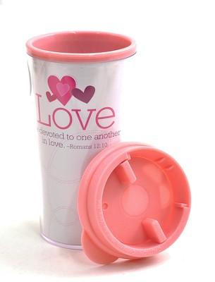 Be Devoted to One Another in Love Tumbler  -