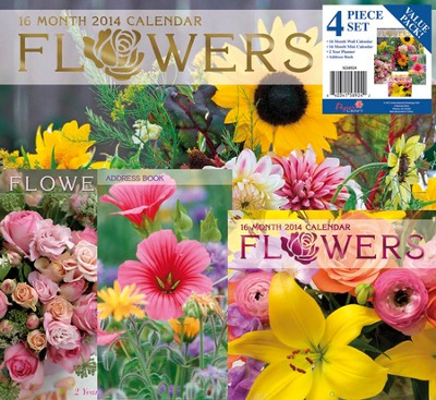 2014 Flowers Calendar Value Pack   -