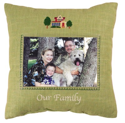 Our Family Photo Pillow  -
