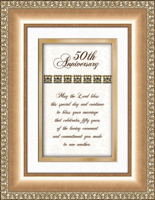 50th Anniversary Framed Print   -