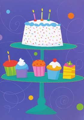 Brightest Wishes Birthday Cards, Box of 12   -