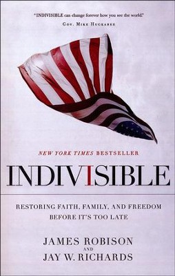 Indivisible, Large Print  -     By: James Robison