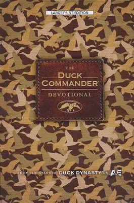 The Duck Commander Devotional, Large Print  -     By: Alan Robertson