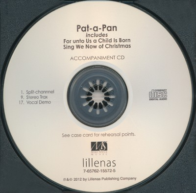Pat-a-Pan (Accompaniment CD)   -