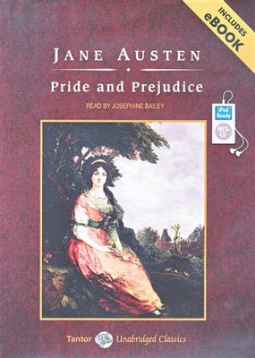 Pride and Prejudice Unabridged Audiobook on MP3-CD  -     Narrated By: Josephine Bailey     By: Jane Austen