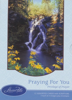 Privilege of Prayer Cards, Box of 12  -
