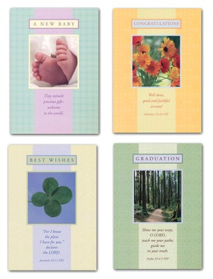 Reflections of Grace, All Occasions Cards, Box of 12  -