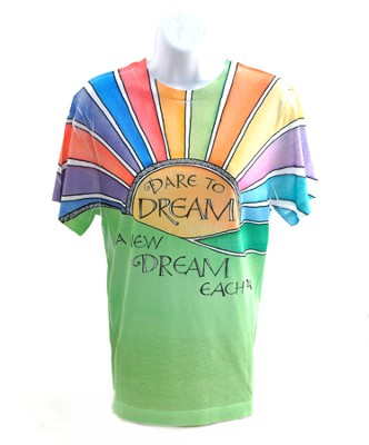 Dare To Dream Shirt, Medium  -