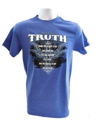 Truth Shirt, Blue, XX large   -