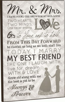 Mr. and Mrs. Chevron, Framed Art  -