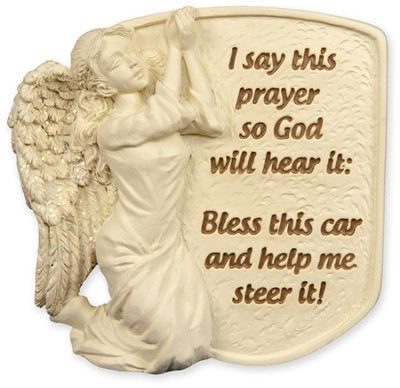 I Say This Prayer Visor Clip  -