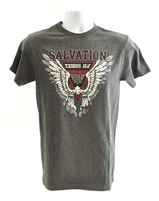Salvation Shirt, Charcoal, Small  -