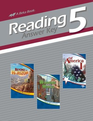 Reading 5 Answer Key   -