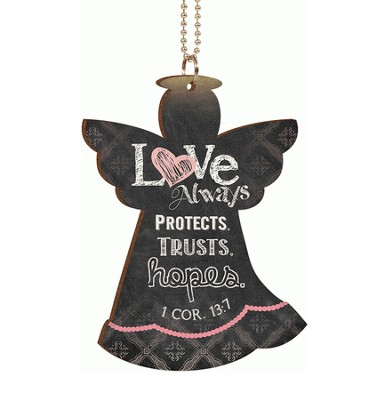 Love Always Protects, Car Charm  -