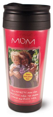 Mom Photo Mug Travel Tumbler  -