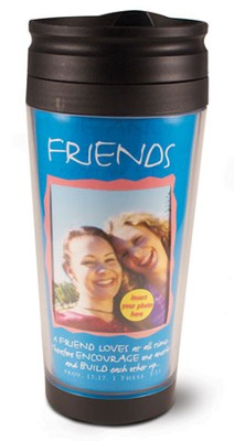 Friends Photo Mug Travel Tumbler  -