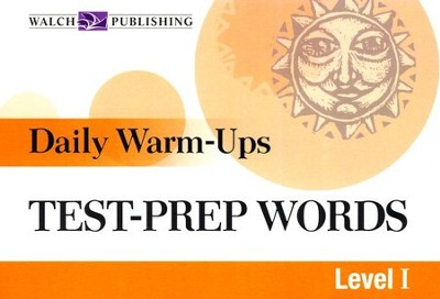 Daily Warm Ups, Test Prep Words, Level 1   -