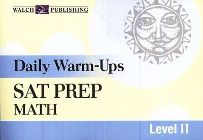 Daily Warm-Ups SAT Prep: Math, Level II    -