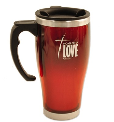 No Greater Love, Stainless Steel Travel Mug   -