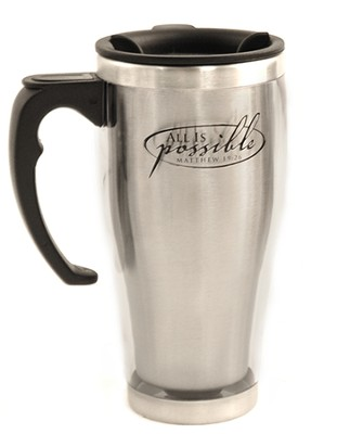 All Is Possible, Stainless Steel Travel Mug   -
