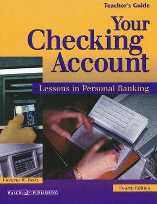 Your Checking Account - Teacher's Guide, Fourth Edition   -