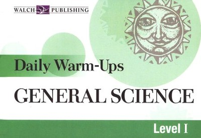 Daily Warm Ups General Science, Level 1   -