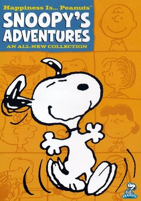 Snoopy's Adventures, DVD   -