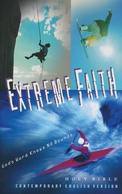 CEV Extreme Faith Youth Bible, Paper  -