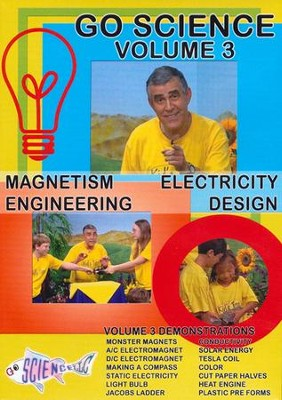 Magnetism, Electricity, Engineering, and Design DVD  -     By: Ben Roy