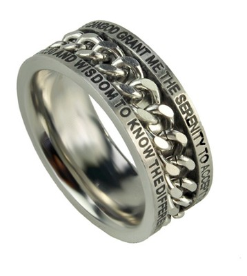 Chain Ring, Serenity, Size 10  -