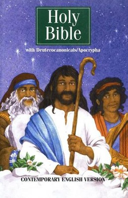 CEV Your Young Christian's First Bible, with Deuterocanonical and Apocryphal Books, Hardcover  -