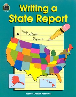 Writing a State Report, Grade 3-6   -     By: John Carratello