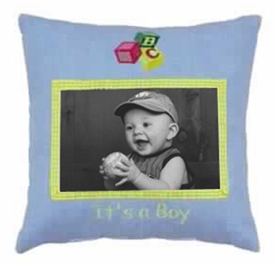 It's a Boy Photo Pillow  -