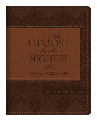 My Utmost for His Highest Devotional Journal - DiCarta Edition  -     By: Oswald Chambers