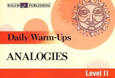Daily Warm-Ups, Analogies, Level 2   -