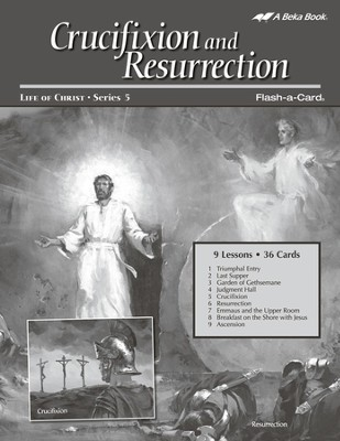 Extra Crucifixion and Resurrection Lesson Guide (New Edition)  -