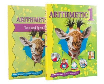 Grade 1 Homeschool Child Arithmetic Kit   -