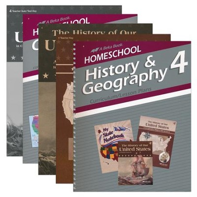 Grade 4 Homeschool Parent History Kit  -