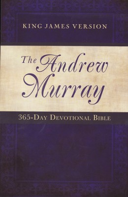 Andrew Murray 365 Day Devotional Bible, Paperback   -