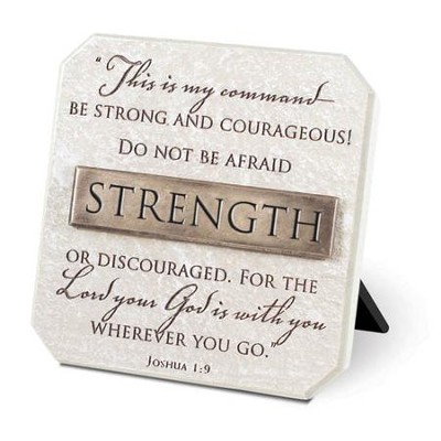 Strength Plaque, Bronze Bar  -